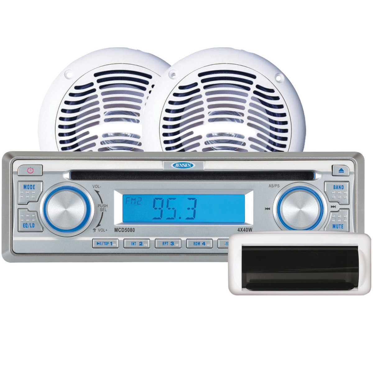 Radios, Speakers & Acc :: Jensen CPM520 Marine Stereo Package With ...