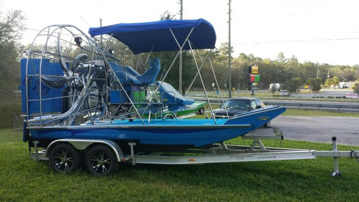 Recent Airboat Builds -